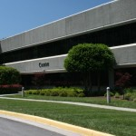 commercial landscaping for office building