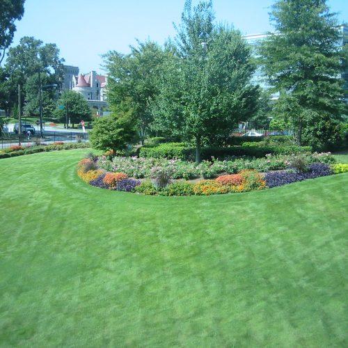 Park Landscaping installation